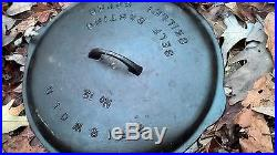 #12 Griswold Skillet Full Writing LID