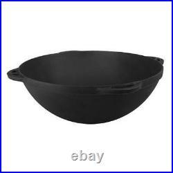 12 L Kazan Pot Uzbeki Tatar Dish Plov Cookware Cast Iron Pan Mangal Oven