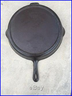 #14 Wagner Ware Cast Iron Skillet Sidney # 1064