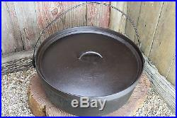 #16 Lodge Camp Dutch Oven Vintage Cast Iron