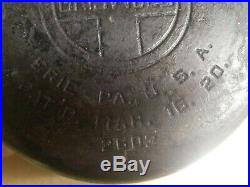 1920 Vintage Griswold Cast Iron Dutch Oven No. 7 With Tite-Top