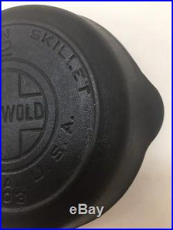 #2 Griswold Large Block Logo 703 Heat Ring Skillet No Wobble Cleaned & Seasoned