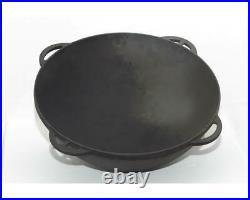 22 L Kazan Uzbeki Tatar Dish Plov Pot Mangal Cookware Cast Iron Pan Cooking Oven