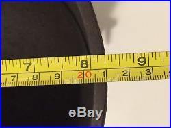 #6 Small Cast Iron Bean Pot Kettle 8 1/4 Outside Diameter