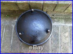 #7 Cast Iron Bean Kettle Pot 8 3/4 Across