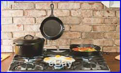 7 Qt Cast Iron Dutch Oven Pre-Seasoned Pot Lid Cookware Kitchen Camp Lodge New