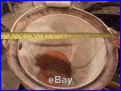 #8 Antique Cast Iron Safety / Odorless Kettle Pot Rare. Griswold