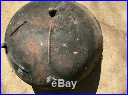Antique Cast Iron 26 Cauldron Pot Cowboy Campfire Kettle Witch Gypsy Fire Pit