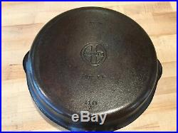 Antique Cast Iron Griswold Hinged Double Skillet No. 1102 And 1103