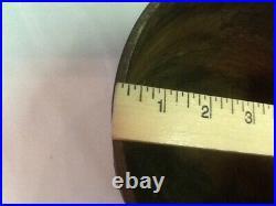 Antique Cast Iron No. 7 Bean Pot Cowboy Kettle 3 Legs With Gatemark