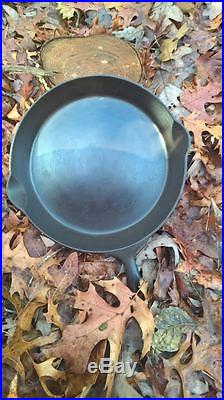 Antique ERIE #10 Pre-Griswold Cast Iron Skillet Clean and Georgeous