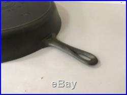 Antique Griswold #14 718 Block Logo Cast Iron Pan Skillet Restored/ Seasoned WOW
