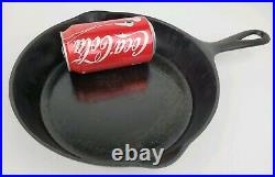 Antique Sidney Hollowware Co #7 Cast Iron Skillet Frying Pan Hard to Find Rare