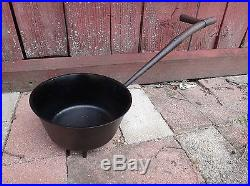 Antique Spider Footed Cast Iron Dutch Oven Long Handle Kenrick & Co 1805 England