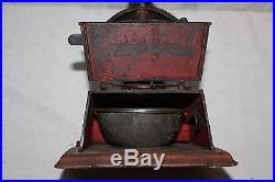 Antique Vintage 1800's Griswold Cast Iron Coffee Grinder Mill Kitchen Primitive