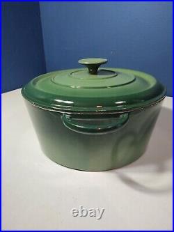 Basix By Staub 26 Enameled Cast Iron Dutch Oven 5.5 Qt Emerald Green