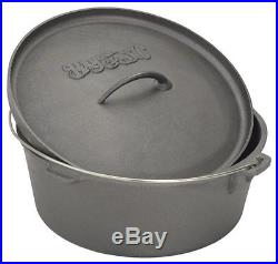 Bayou Classic Pot Cookware Cast Iron Dutch Oven Oven Lid Cooking Stews Chicken