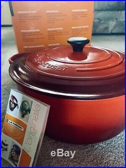 Brand New Le Creuset 13 1/4 Qt Dutch Oven- Cherry Red -$560