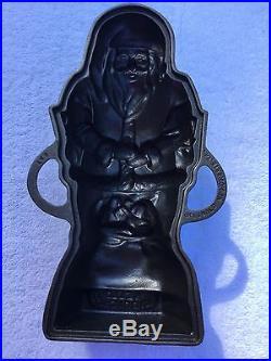 Cast Iron Griswold Santa Mold