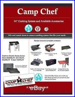 Camp Chef Professional Griddle Steel/Silver 2 Burner