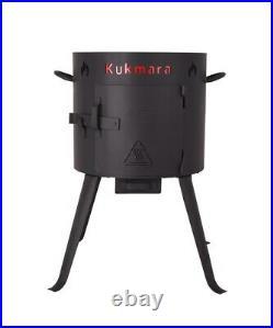 Camping Oven Uchag Cooking Fire Cauldron Oven+Kazan 12L Cast Iron Cauldron