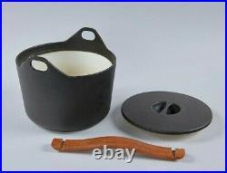 Cast Iron Pot in Black by Timo Sarpaneva for iittala