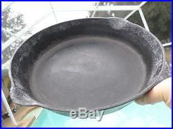 Cast-Iron Skillet GRISWALD 9 Erie PA USA 710 H Heat Ring