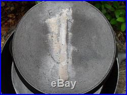 Cast Iron Skillet Set # 7, 8, 10, 12 ERIE Logos Matching Lot Clean Usable