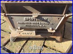 Cast Iron Sportsman 3 Legs Grill Birmingham Stove & Range Co