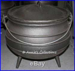Cast iron Cauldron Potjie pot 9.5 gal Size 14 African style Reenactment Survival