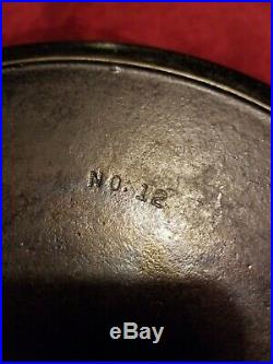 Cast iron Griswold skillet # 12