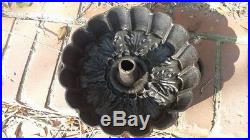 Cast iron bundt pan European