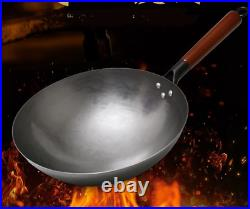 Chinese Traditional Wok Non-Stick Cast Iron Pan Non-Coating Cooker Cookware Pot