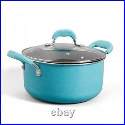 Cookware Nonstick Pans Pots 10 Piece Woman's Aluminum Cooking Cast Iron Skillet