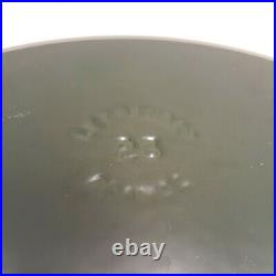 Dark Green Le Creuset #23 Enameled Cast Iron Oval Dutch Oven 2 3/4- Quart