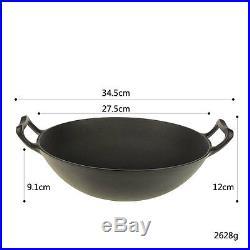 Details about Cast Iron Dutch Oven JAPAN Cookware Camp Cook Pan Pot Frying Camp
