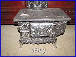 Dolly's Favorite Salesman Sample Child's Toy Cast Iron Stove