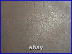 ERIE GRISWOLD'S Cast Iron #8 Bean Pot Kettle withbail