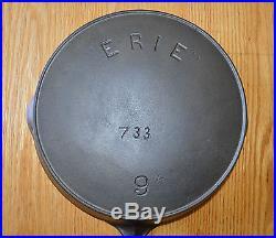 ERIE (Griswold) EXTRA DEEP SKILLET No. 9