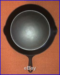 ERIE No 12 Pre-Griswold Skillet P/N 719 (3rd series beautifully restored)