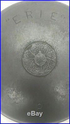 ERIE Spider Logo Skillet Erie 8 before 1890 HARD TO FIND