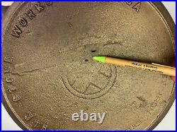 Eagle Stove Works #12 Cast Iron Skillet Griswold 12 Ghost marks Gate mark