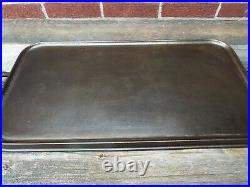 Early Foundry Dickson PA Cast Iron #11 Long Griddle, restored