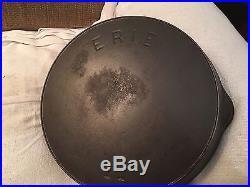 Erie#11 Pre Griswold Cast Iron Skillet