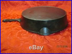 Erie Pre Griswold #9 Cast Iron Skillet With Makers Mark