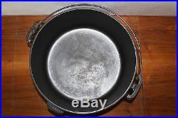 Excellent GRISWOLD slant 10 TITE TOP DUTCH OVEN BASTING COVER Cast Iron Cookware