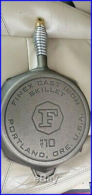 FINEX Cast Iron Skillet No. 10 with Lid