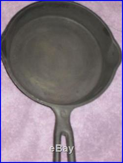 FRESH BARN FIND- Antique Cast Iron WAPAK Skillet / Pan #3