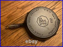 Finex 12 Cast Iron Skillet Made in USA EUC