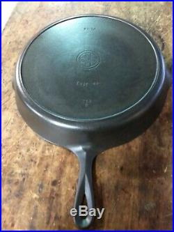 Fully Restored! Griswold #12 Small Block Logo Cast Iron Heat Ring Skillet